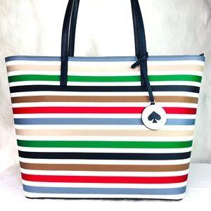 Kate Spade Tanya Tote Stripe Bag